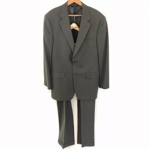 Brooks Brothers 346 Stretch Mens Suit 40R 34x28